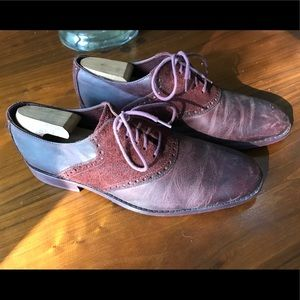 Cole Haan Saddle Shoes Oxblood